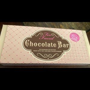 slimmer too faced chocolate bar palette